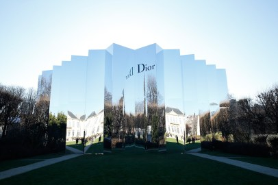 PARIS, FRANCE - JANUARY 25: Illustration view of the Christian Dior Haute Couture Spring Summer 2016 show as part of Paris Fashion Week. Held at Musee Rodin on January 25, 2016 in Paris, France. (Photo by Bertrand Rindoff Petroff/Getty Images)